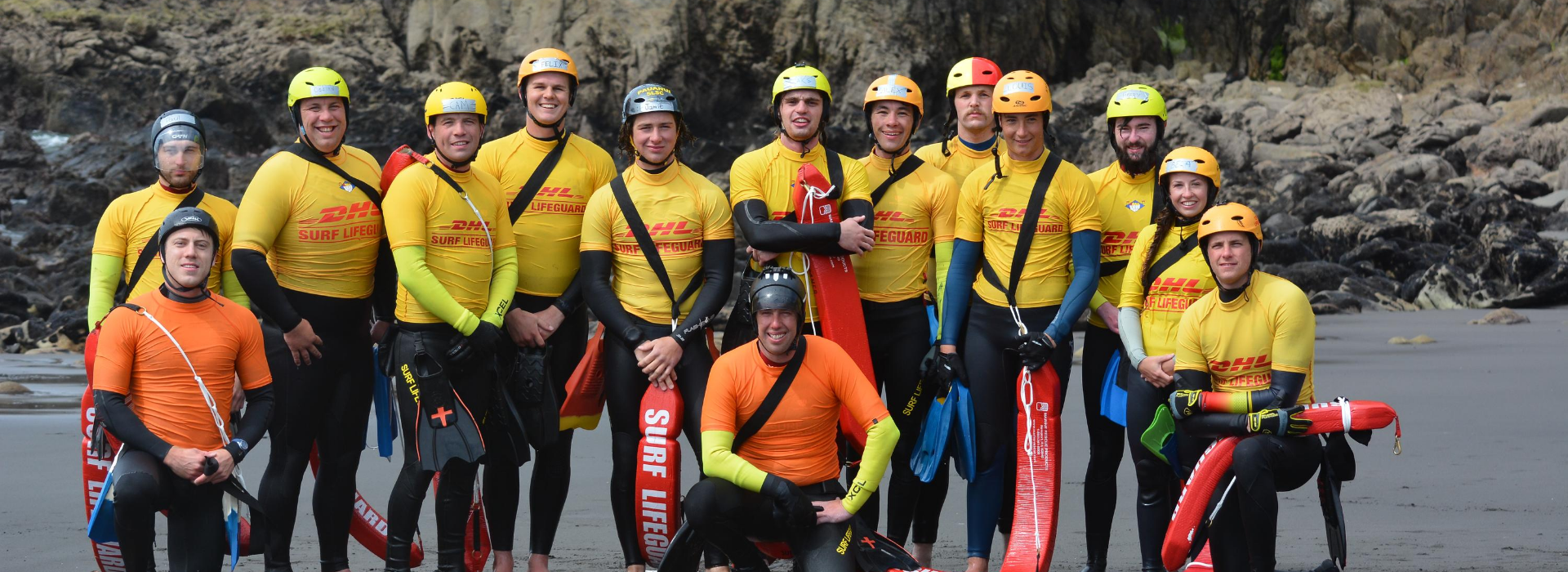 Lifeguards_Rescue Team Portrait