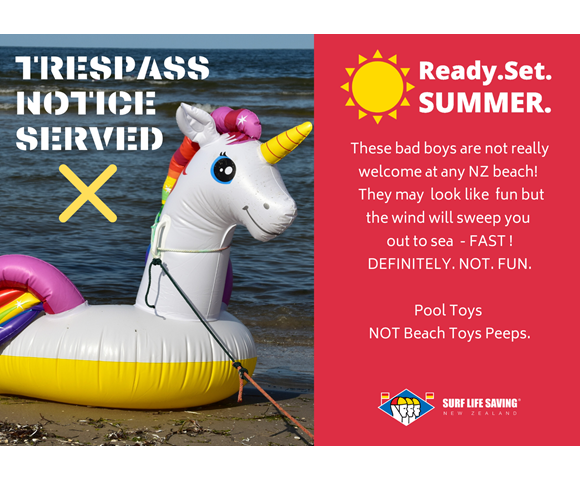 Ready. Set. Summer. POOL TOYS - Unicorn