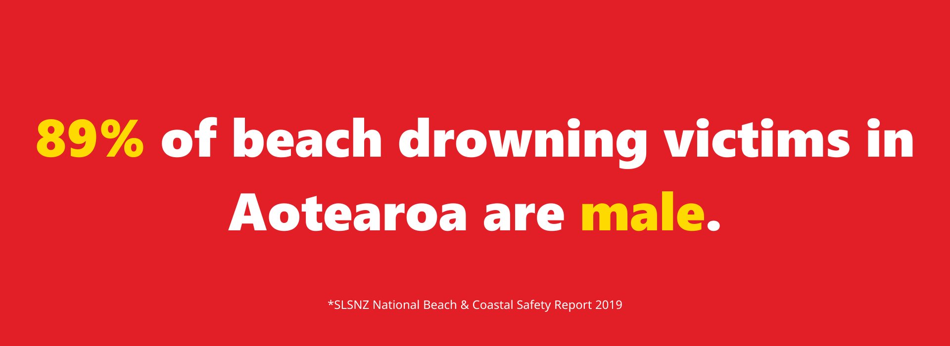 Male Drowning Stat with note