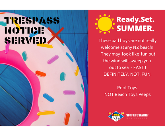 Ready. Set. Summer. POOL TOYS - Donut